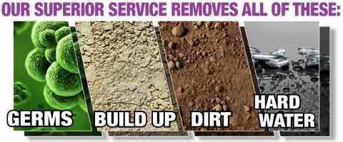 Busselton granite countertop cleaners penetrate deep inside granite's porous surface to remove bacteria - image